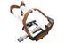 Procraft Retro Clip Pedaler sort/sølv